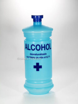 ALCOHOL Desnaturalizado 1 Litro. Ftalato de Etilio.