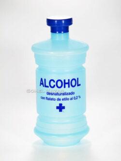 ALCOHOL Desnaturalizado 500 ml. Ftalato de Etilio.