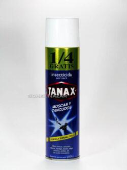 Insecticida en Aerosol TANAX Moscas y Zancudos.