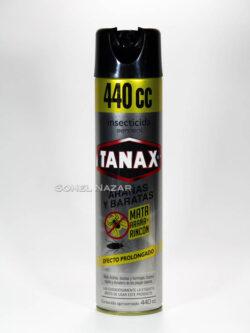 Insecticida en Aerosol TANAX Arañas y Baratas. 440cc.