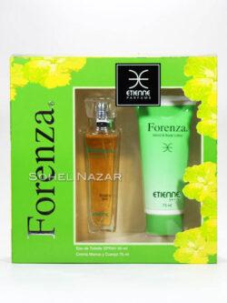Estuche Perfume ETIENNE Forenza Hand & Body Loción.