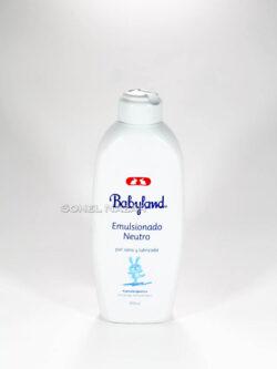 Emulsionado Neutro BABYLAND Hipoalergénico.