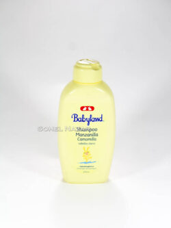 Shampoo BABYLAND Cabellos Claros. Hipoalergénicos.
