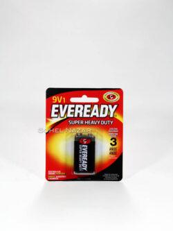 Pilas EVEREADY 9V1. Super Heavy Duty.