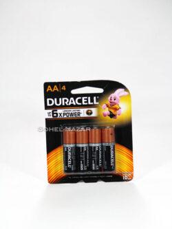 Pilas Duracell AAx4. Longer Lasting Power.