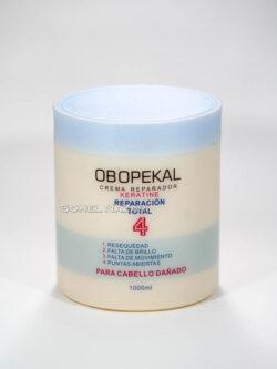 Crema de Keratina Reparación total 4 OBOPEKAL