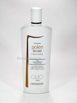Línea Shampoo OLIO Industria Argentina. – Shampoo polen y miel