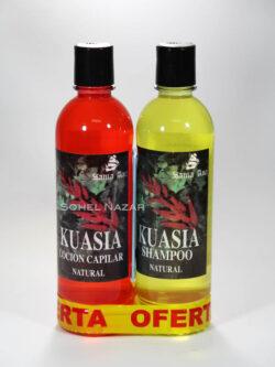 Pack Kuasia SANTA ANA Loción y Shampoo.