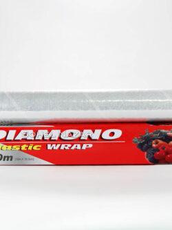 Papel de Aluminio DIAMONO Plastic Wrap