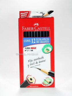 Eco lápices de Grafito FABER-CASTELL. Hexagonal.