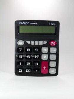Calculadora KADIO. 12 Dígitos. Plástica Resistente.