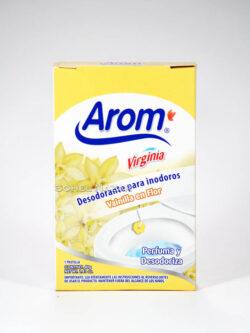 Desodorantes para Inodoros en Pastilla AROM.