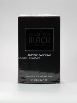Eau de Toilette Seduction in Black ANTONIO BANDERAS.