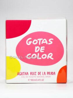 Eau De Toilette Gotas de Color AGATHA RUIZ de la PRADA.