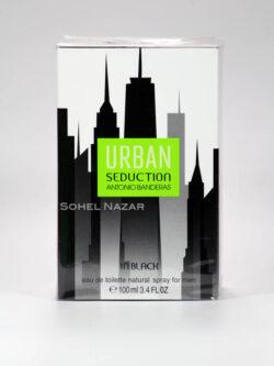 Eau de Toilette for Men Urban Seduction in Black ANTONIO BANDERAS.
