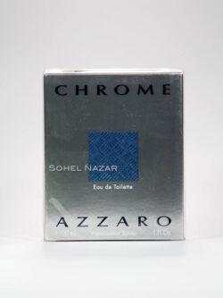 Eau De Toilette AZZARO Chrome for Men.