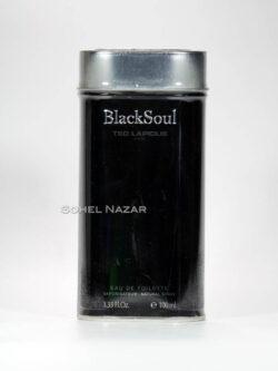 Eau De Toilette Black Soul TED LAPIDUS Paris.
