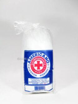 Algodón AMERICANO Hidrófilo 50g.
