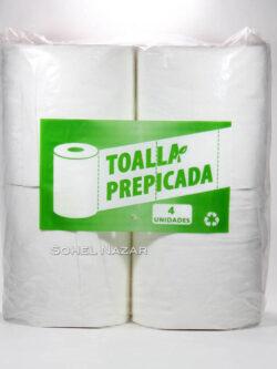 Toalla Nova Prepicada Industrial 4 Unidades.