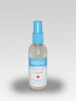 Alcohol Plus 70% Enriquecido con cobre ARENS.