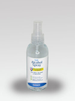 Alcohol Spray Higienizante Manos 70% Split HUDSON 140ml.