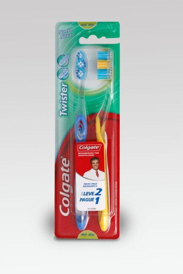 Cepillo Dental Twister Colgate x2