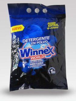 Detergente en Polvo WINNEX 1 Kg.