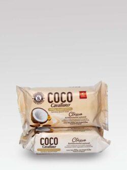 Jabón de Tocador Natural Clásico de Coco CAVALLARO.
