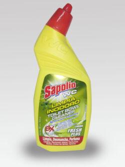 Limpia Inodoro SAPOLIO Toilet Bowl 500ml.