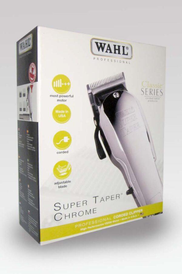 Maquina de Corte Super Taper Chrome Series Clasic Wahl