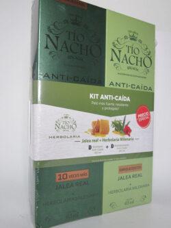 Kit Shampoo + Acondicionador Anti-caída TIO NACHO.