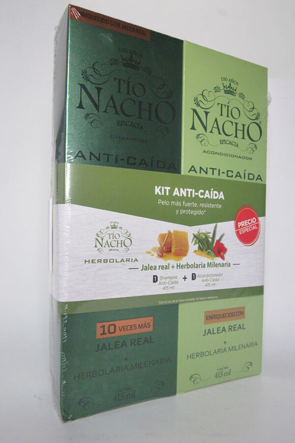 Pack Tío nacho anti-caída