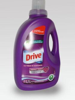 Detergente Líquido con Suavizante DRIVE 2.7Lts.
