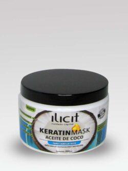 Mascara Cuidado Capilar KeratinMask ILICIT 350ml.
