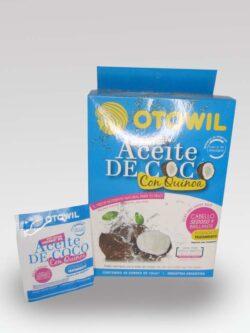 Aceite de Coco con Quinoa OTOWIL Sachet.