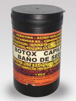 Botox Capilar Baño de Seda 1 kilo.