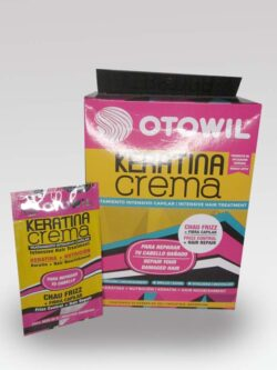 Tratamiento Capilar Keratina OTOWIL Crema Sachet.
