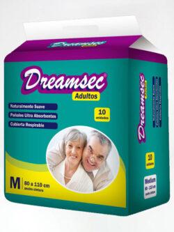 Pañales para Adultos M DREAMSEC 10 Unidades.