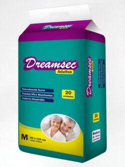 Pañales para Adultos M DREAMSEC 20 Unidades.